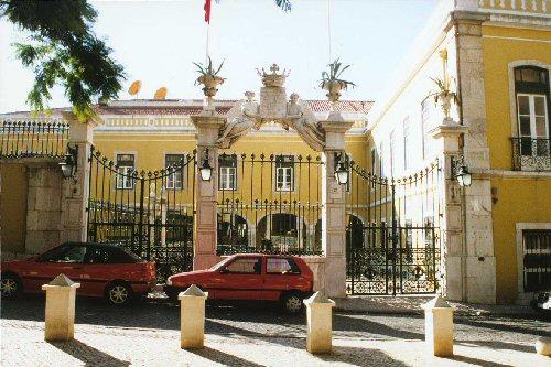 O Palácio Conde de Penafiel é a sede da Comunidade dos Países de Língua Portuguesa (CPLP) em Lisboa.