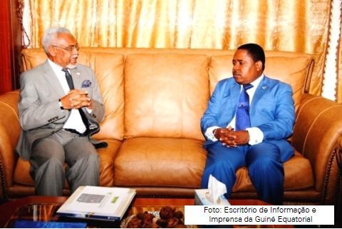 O secretário-executivo da CPLP, Murade Murargy, foi recebido na Guiné Equatorial pelo primeiro-ministro Vicente Ehate Tomi.