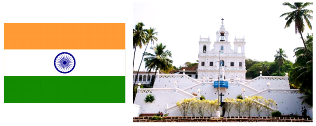 Segundo o Instituto Camões, cerca de dez a quinze mil pessoas falam a Língua Portuguesa na Índia, sobretudo na região de Goa.
