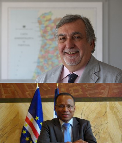 Vítor Ramalho (acima) é o novo secretário-geral da UCCLA e Ulisses Correia e Silva, presidente da Câmara Municipal da Praia (abaixo), é o novo presidente da Comissão Executiva da organização.