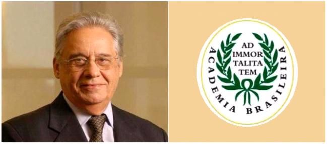 O sociólogo e ex-presidente brasileiro Fernando Henrique Cardoso foi eleito como novo membro da Academia Brasileira de Letras.