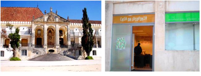A Universidade de Coimbra inaugurou a Casa da Lusofonia para o atendimento e apoio aos estudantes portugueses, internacionais e dos países lusófonos.
