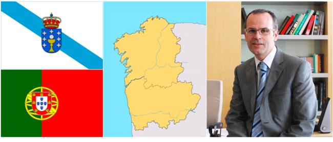 O conselheiro de Educação da Galiza, Jesús Vázquez Abad, visitou o Norte de Portugal para  estabelecer parcerias em formação profissional e Ensino de Língua Portuguesa.