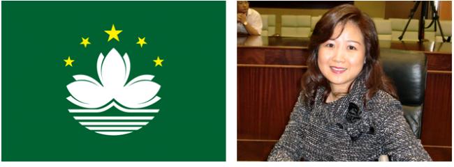 """A deputada Melinda Chan afirma que o Governo da Região Administrativa Especial chinesa tem a responsabilidade de """"encorajar os estudantes a aprenderem o português"""", que é """"muito importante em Macau"""" e é Língua oficial juntamente com o chinês."""