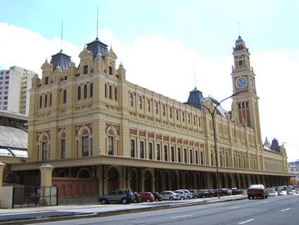 O Museu da Língua Portuguesa está localizado no prédio da Estação da Luz, no centro da Cidade de São Paulo.