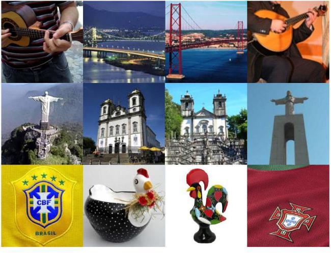 As autoridades da cultura dos governos dos dois países anunciaram a criação de um centro cultural português no Brasil e de um centro brasileiro em Portugal.