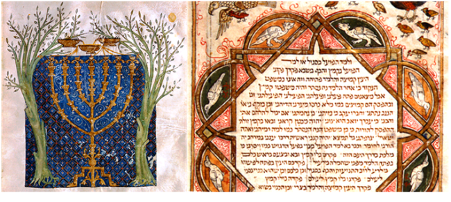 Ilustrações da Bíblia Hebraica de Cervera: ensaio lançado em Portugal mostra expressões e influências da língua hebraica e da cultura judaica na Língua Portuguesa.