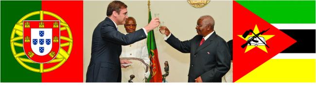 Na reunião entre Pedro Passos Coelho e Armando Guebuza, foi assinado protocolo entre Portugal e Moçambique para a criação de um curso de Português para Estrangeiros, dentre outros acordos.
