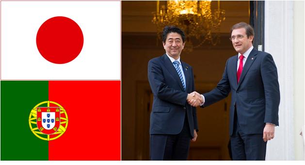 O primeiro-ministro do Japão, Shinzo Abe, em visita a Lisboa, manifestou o desejo de seu país a ser membro observador da CPLP a seu homólogo de Portugal, Pedro Passos Coelho.