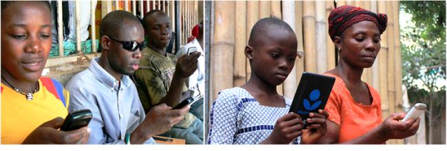Um relatório recente da UNESCO defende o uso de telemóveis para estimular a leitura e erradicar o analfabetismo nos países em desenvolvimento.