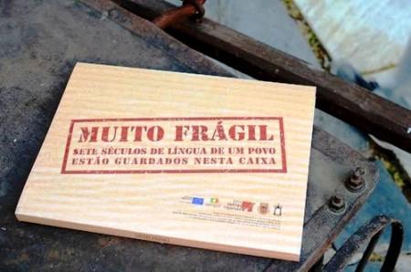 """O projeto apresentou a público os registos da compilação do português de Olivença: uma Língua """"em risco de desaparecer""""."""