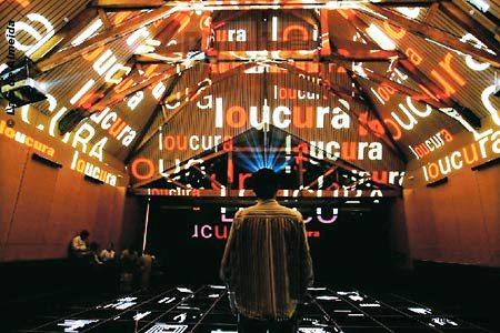 As mostras do Museu da Língua Portuguesa de São Paulo são conhecidas pela interatividade e pelo recurso às tecnologias multimédia.